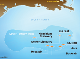 Chevron Announces Oil Discovery in Deepwater U.S. Gulf of Mexico